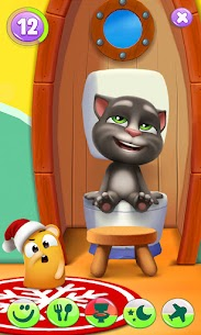 My Talking Tom 2 Mod Apk Unlimited Fun + Unlimited Coins 3