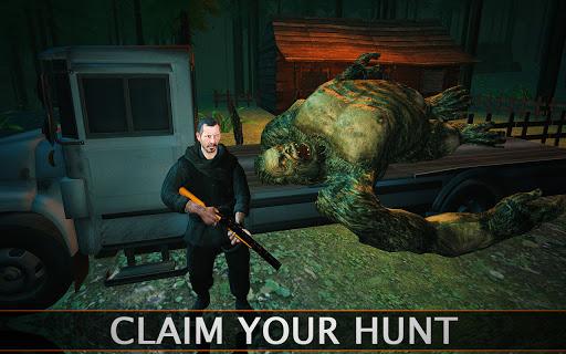 Bigfoot Monster Hunting: Forest Survival Adventure  screenshots 1