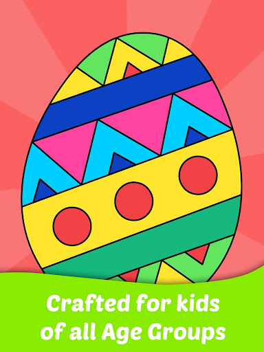 Easter Egg Coloring Game For Kids  screenshots 4