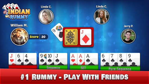 Indian Rummy - Play Rummy Game Online Free Cards 7.7 screenshots 1