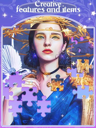 Happy jigsaw puzzles - calm & relax Apkfinish screenshots 14
