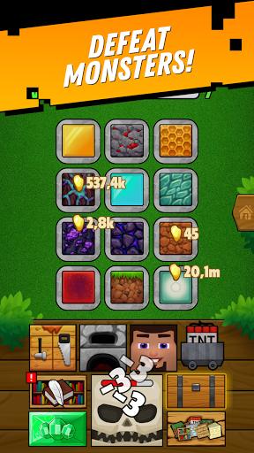 Minetap: Epic Clicker! Tap Crafting & mine heroes  screenshots 2