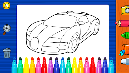Free Learn Coloring amp  Drawing Car Games for Kids NEW 2021 **** 2