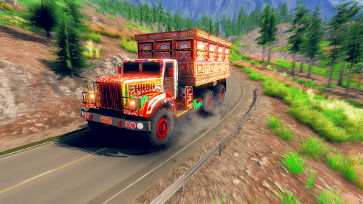 Asian Truck Simulator 2019: Truck Driving Games screenshots 1