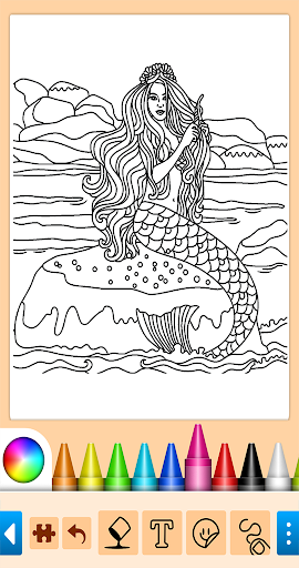 Coloring game for girls and women 15.1.4 screenshots 3