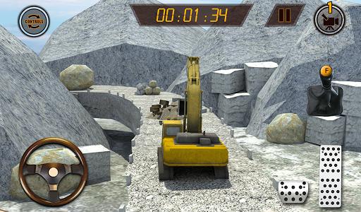 Hill Excavator Mining Truck Construction Simulator screenshots 14