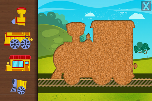 Trains Jigsaw Puzzles for Kids apkmr screenshots 3