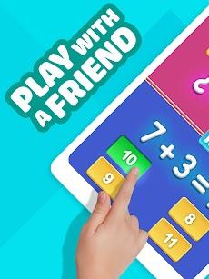 数学ゲーム–2プレイヤークール数学学習ゲームのおすすめ画像5
