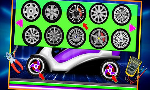Electric Car Repairing - Auto Mechanic Workshop 1.2 screenshots 8