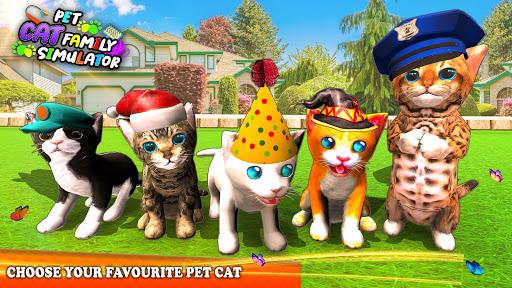 Pet Cat Simulator Family Game Home Adventure Apkfinish screenshots 9