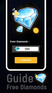 Guide and Free Diamonds for Free App Mod 1
