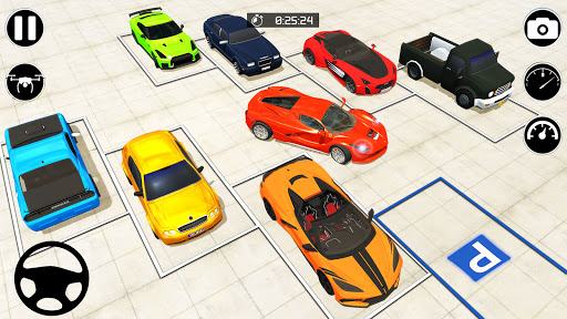 Car Parking eLegend: Parking Car Driving Games 3D android2mod screenshots 8
