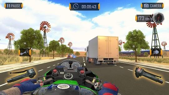 Bedava motor Trafik Binici  otoyol Sürme Oyunlar Apk 2021 4