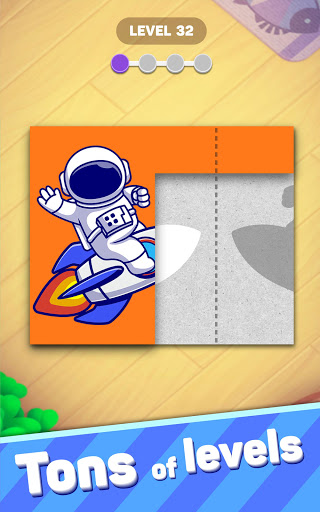 Paper Fold Puzzle: Easy Origami - Paper Folding  screenshots 15