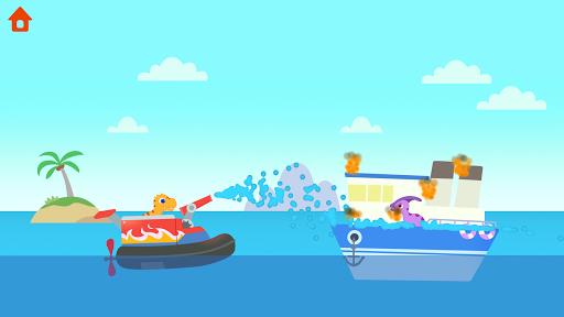 Dinosaur Patrol Boat - Coast Guard Games for kids apkmr screenshots 8