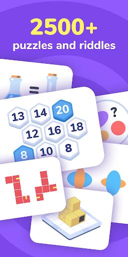 Logic Like: Brain Training Game. Puzzles & Riddles  screenshots 1