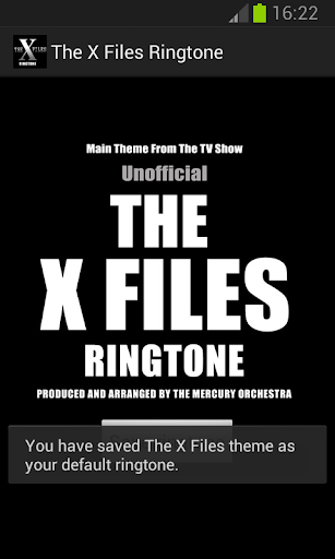 X Files Ringtone unofficial For PC Windows (7, 8, 10, 10X) & Mac Computer Image Number- 5