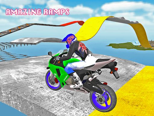 Motorcycle Escape Simulator - Fast Car and Police  screenshots 4