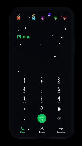 Among Us EMUI 9/10 Theme 3 Screenshots 4