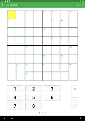 Killer Sudoku 2.1.7 screenshots 13