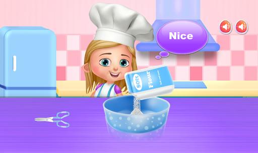 cooking toy bear cake screenshot 2