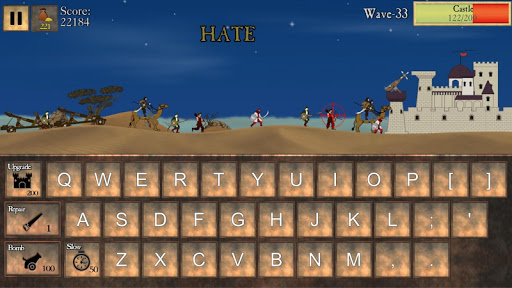 Type Defense - Typing and Writing Game  screenshots 2