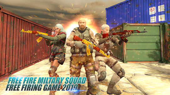 Free Military Firing Squad: Free Firing Game 2019 Game Hack & Cheats 1