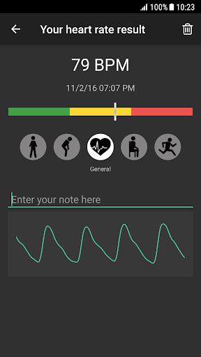 Heart Rate Plus - Pulse & Heart Rate Monitor 2.5.9 Screenshots 2
