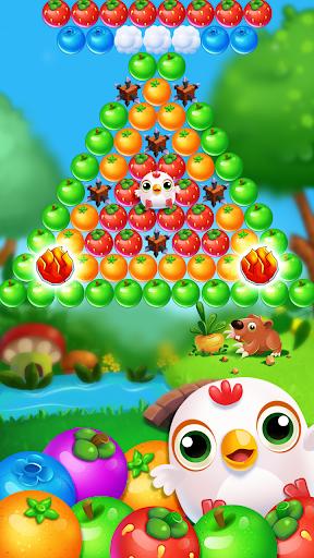 Chicken pop - Fruits bubble splash 1.0.7 screenshots 8