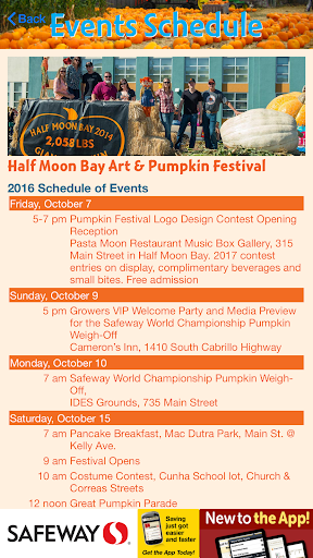 iPumpkin: HMB Pumpkin Festival For PC Windows (7, 8, 10, 10X) & Mac Computer Image Number- 12