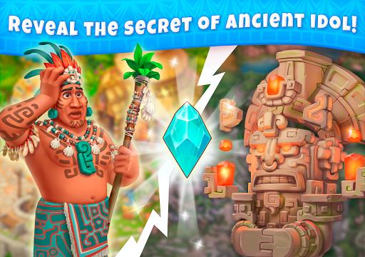 Jungle Mix Match Three: New Jewel in Match-3 Games apkpoly screenshots 20