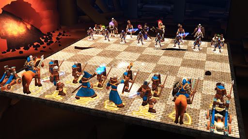 Chess 3D Animation : Real Battle Chess 3D Online 6.1.1 screenshots 1