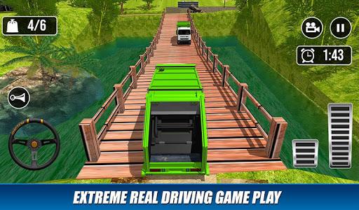 Offroad Garbage Truck: Dump Truck Driving Games 1.1.6 screenshots 4