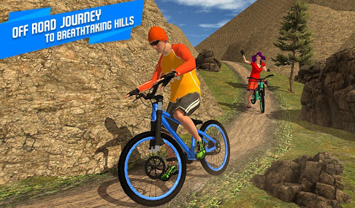 BMX Offroad Bicycle rider Superhero stunts racing screenshots 15