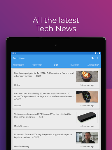 Tech News 1.9.3 Screenshots 9
