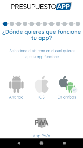 Presupuesto App  screenshots 9