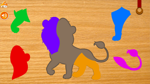 animals puzzle - jigsaw puzzle game for kids screenshot 2