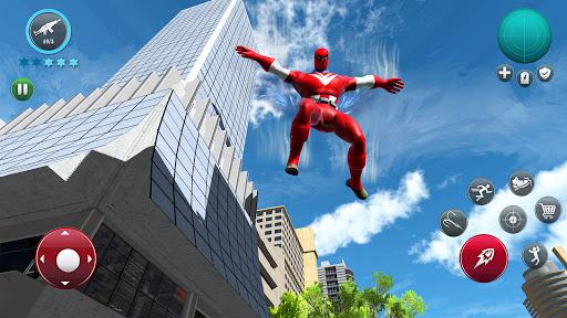 Miami Robot Spider Hero: City Gangster Games 2021 screenshots 4