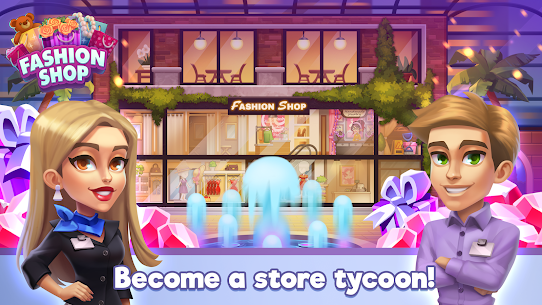 Fashion Shop Tycoon Mod Apk (Free Shopping) 4
