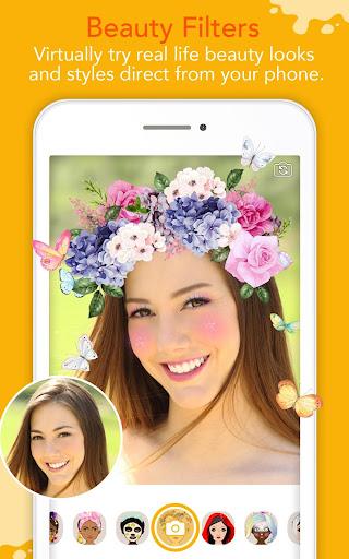 YouCam Fun - Snap Live Selfie Filters & Share Pics screenshots 2