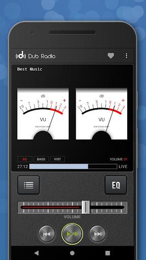 Dub Radio - Online fm radio tuner + equalizer android2mod screenshots 6