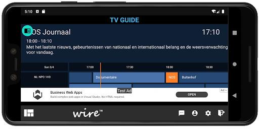 Foto do Wire IPTV