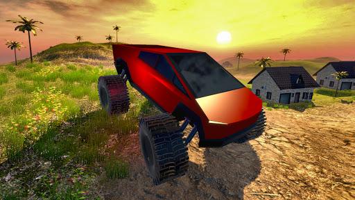 Off road Truck Simulator: Tropical Cargo android2mod screenshots 2