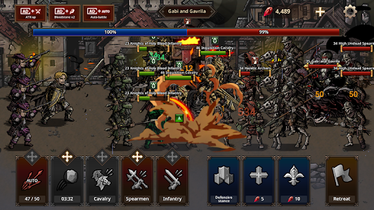 King's Blood: The Defense MOD (Unlimited Diamonds) 4