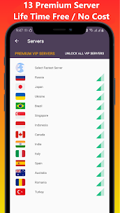 VOP HOT Pro Premium VPN -100% secure Safe Browsing For Android 2