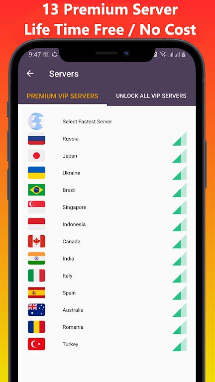 VOP HOT Pro Premium VPN -100% secure Safe Browsing  poster 1