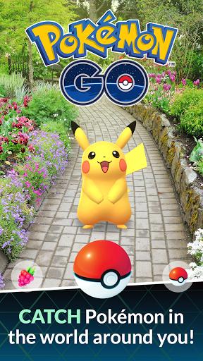 Pokémon GO screen 1