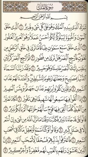 القرآن الكريم مع تفسير ومعاني كلمات  screenshots 2