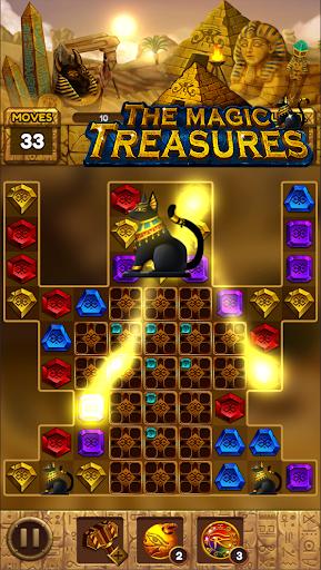 The magic treasures: Pharaoh's empire puzzle apkslow screenshots 12