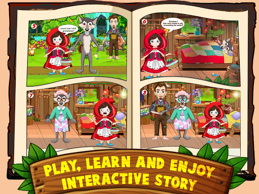 Mini Town: Red Riding Hood Fairy Tale Kids Games modavailable screenshots 9